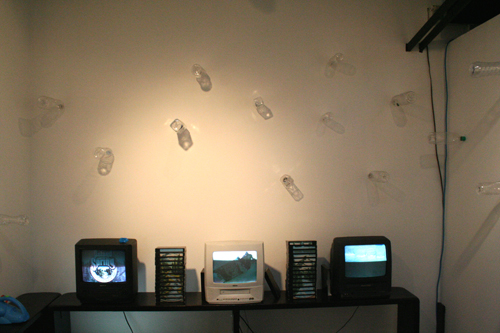 Clearchannel Analogue Video Library Installation View.