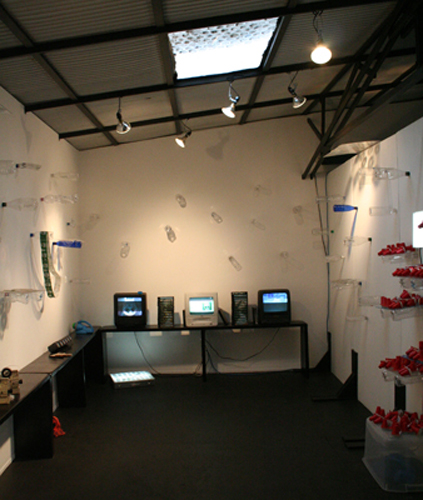 Clearchannel Installation View.
