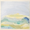 Rebecca Suss. Glacier #1, 2008. oil on paper. 7 x 7 inches.