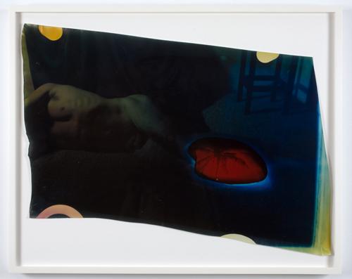 Mariah Robertson. #19, 2009. Unique c-print. 20 x 24 inches.