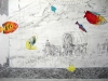 Chris Domenick. The Invasion (detail). 2009. graphite, marker, collage on paper. 52 x 75 inches.