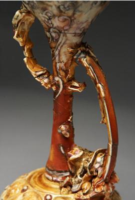 Jonathan Bridges. Pouring Vessel (detail). 2007.