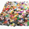 Mary Johnson. Nightingale Rug. 2007. Dog toy pelts and squeakers. 5 x 7 feet.