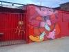 Love Billy. Weaver, 2009. Spray paint on aluminum. Union & Van Brunt Street, WORK Gallery.