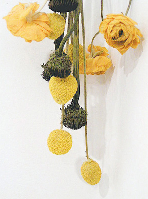 Emily Driscoll. Flowers (courtesy of Robert and Susan Wislow).