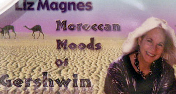 Liz Magnes. Moroccan Moods of Gershwin (detail). Compact disc and case.