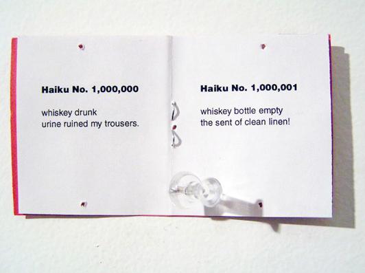 Adam Kane. haiku (detail). Poems-for-All / No. 582. 24th St. irregular press, 2006. Sacramento, CA.