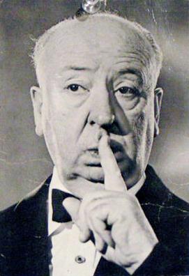 Walker Waugh. Alfred Hitchcock postcard.