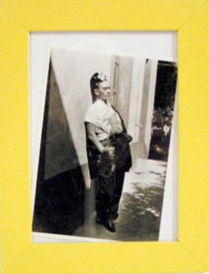 Rhonda Kane. Framed photograph of Frida Kahlo.