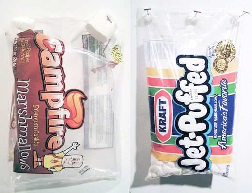 Jessie Stead. Marshmallow bags.