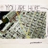 Barry Gross. You Are Here. Marker and printed Google map, destination: WORK.