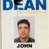 John Crowley-Delman. Dean for America Staff ID card (deactivated).