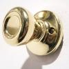 Sabrina Locks. Brass doorknob.