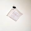 Kevin Reilly. Letter inside a plastic bag.