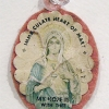 Rosanne Driscoll. Cloth and paper Virgin Mary icon.