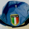 UNKNOWN. Cloth hat with Italia patch.