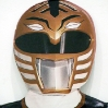Hall O\'Donnell. Cardboard Power Ranger (detail).