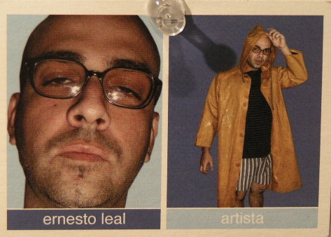 Ernesto Leal. Business card.