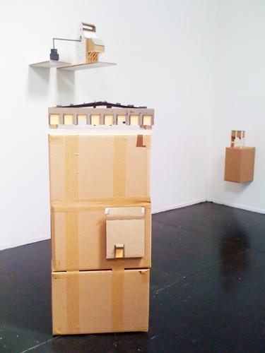 Monica Martienez. FREE RANGE Installation View.