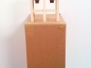 Monica Martinez. Granary Study #2. 2009. Museum chip board, wood. 19 x 10 x 8 inches.