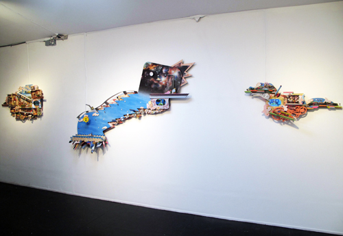 Ryan Brennan. Close Your Eyes and Look as Far as You Can See. Installation view.