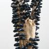 Brigitte Bouquet. Gum Tree (detail), 2009. ceramic, copper, wood. dimensions variable.