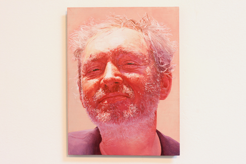 Matthew Watson. Untitled Portrait II, 2009. oil on copper. 6 x 8 inches.
