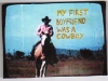 Gabriela Vainsencher. Cowboy Boyfriend, 2008. marker on digital print. 4 x 4 inches.